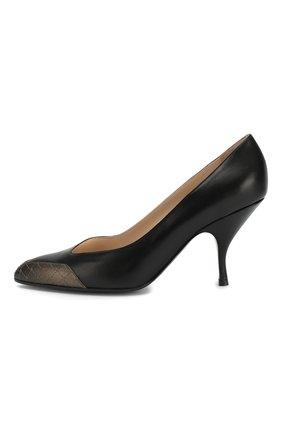 Кожаные туфли | Фото №3