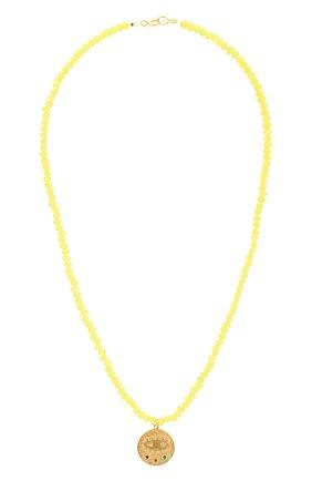 Женское колье kressida HERMINA ATHENS желтого цвета, арт. MKYCN | Фото 1