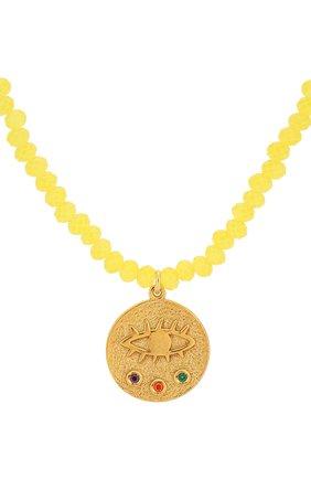Женское колье kressida HERMINA ATHENS желтого цвета, арт. MKYCN | Фото 2