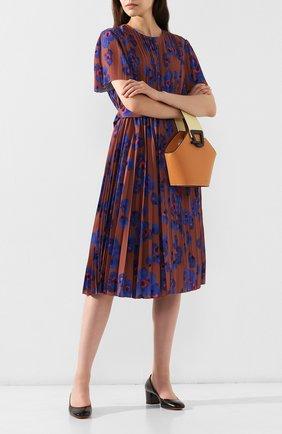 Женская кожаные туфли SANTONI черного цвета, арт. WDTC57817SH2GSCKN01 | Фото 2