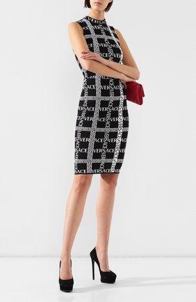 Женская замшевые туфли CASADEI черного цвета, арт. 1F436K1401CAM0S9000 | Фото 2