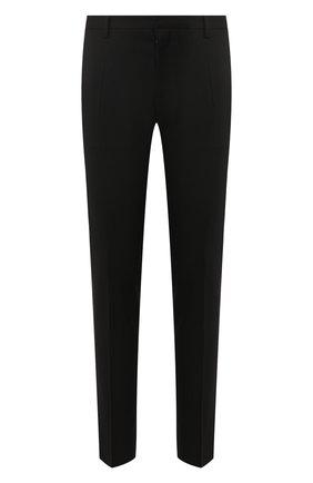 Мужской брюки из смеси шерсти и вискозы DSQUARED2 черного цвета, арт. S74KB0311/S36258 | Фото 1