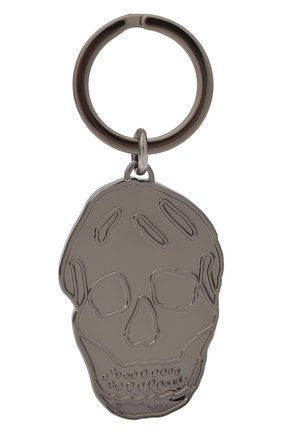 Мужской брелок ALEXANDER MCQUEEN серебряного цвета, арт. 554704/J160R | Фото 1