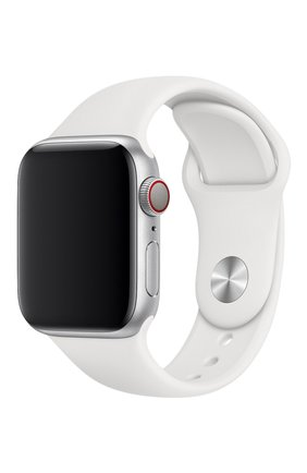 Ремешок apple watch 40mm sport band APPLE  белого цвета, арт. MTP52ZM/A | Фото 1