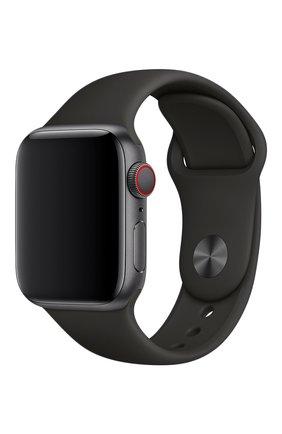 Мужской ремешок apple watch 40mm sport band APPLE черного цвета, арт. MTP62ZM/A | Фото 1