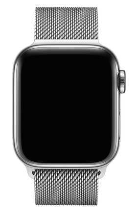 Мужской ремешок apple watch 40mm milanese loop APPLE серебряного цвета, арт. MTU22ZM/A | Фото 2