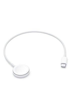 Мужской кабель usb‑c с магнитным креплением для зарядки apple watch 0.3m APPLE белого цвета, арт. MU9K2ZM/A   Фото 1