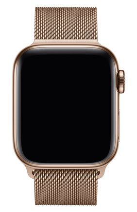 Мужской ремешок apple watch 40mm milanese loop APPLE золотого цвета, арт. MTU42ZM/A | Фото 2