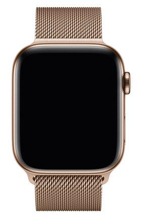 Мужской ремешок apple watch 44mm milanese loop APPLE золотого цвета, арт. MTU72ZM/A | Фото 2