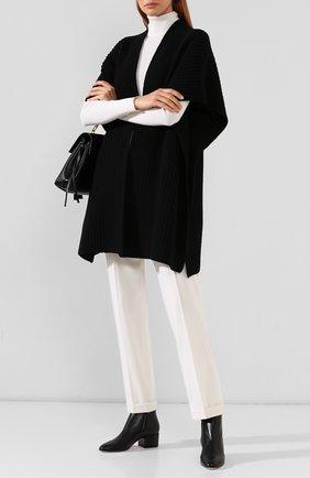Женские кожаные ботильоны SERGIO ROSSI черного цвета, арт. A78330-MAGN05 | Фото 2