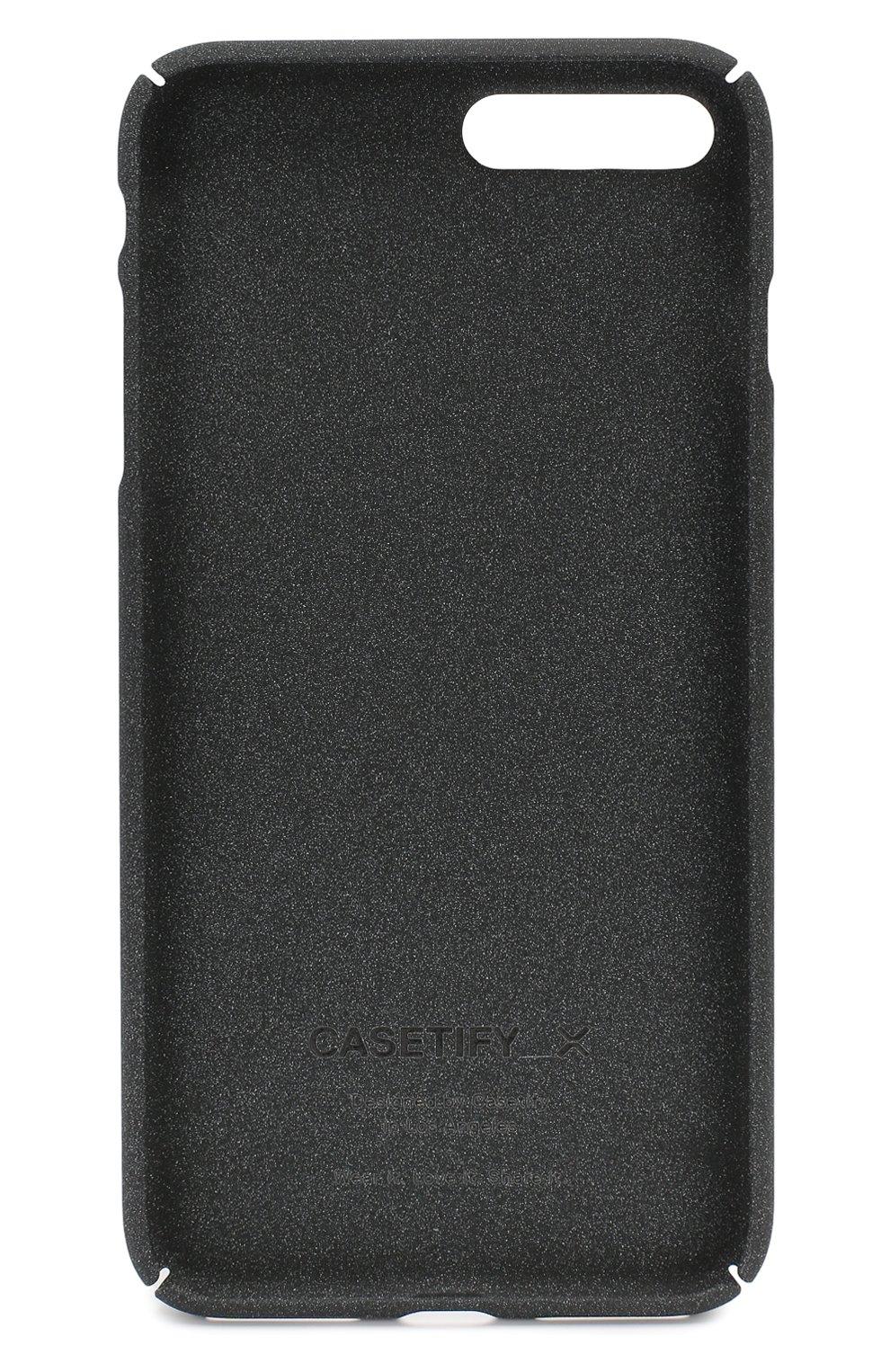 Мужской чехол для iphone 7 plus/8 plus CASETIFY темно-серого цвета, арт. CTF-4799909-1610740 | Фото 2
