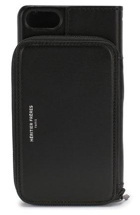 Мужской чехол для iphone 7/8 HERITIER FRERES черного цвета, арт. ANDYIPH8BLCK | Фото 2