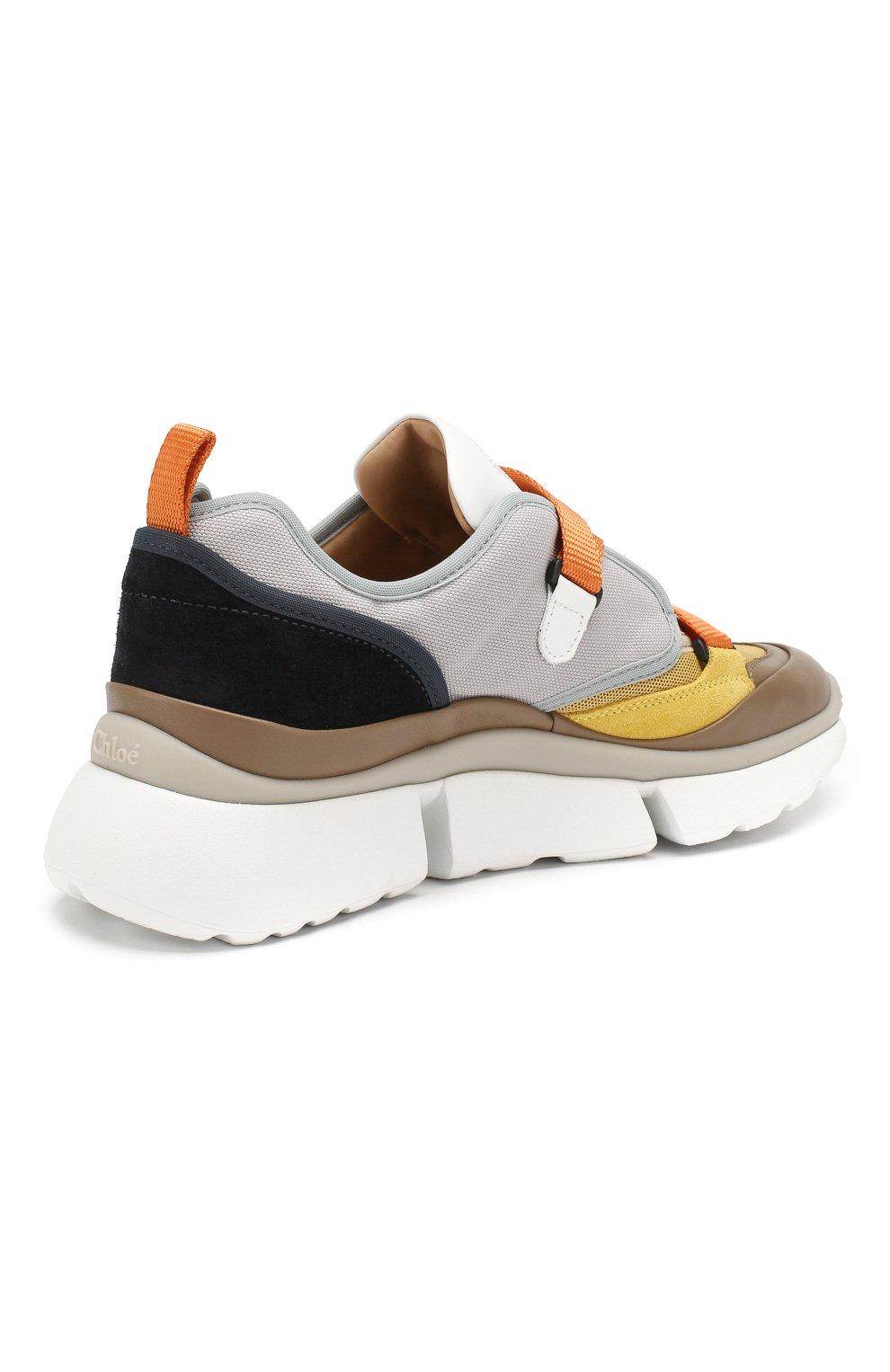 Комбинированные кроссовки Sonnie   Фото №4