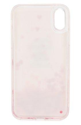 Мужской чехол для iphone x/xs BENJAMINS розового цвета, арт. STXS-BATTIT0 | Фото 2