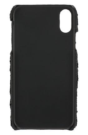 Мужской чехол для iphone xr BENJAMINS черного цвета, арт. BJXR-SEQUINSKS | Фото 2