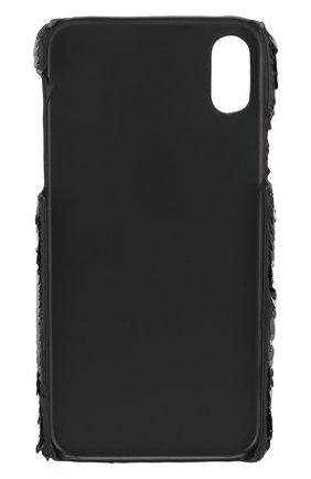 Мужской чехол для iphone x/xs BENJAMINS черного цвета, арт. BJXS-SEQUINSKS | Фото 2