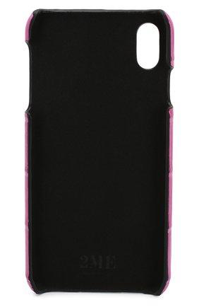 Мужской чехол для iphone xs max 2MESTYLE фуксия цвета, арт. DD001/CNIL | Фото 2