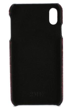 Мужской чехол для iphone xs max 2MESTYLE бордового цвета, арт. DD007/CNIL | Фото 2