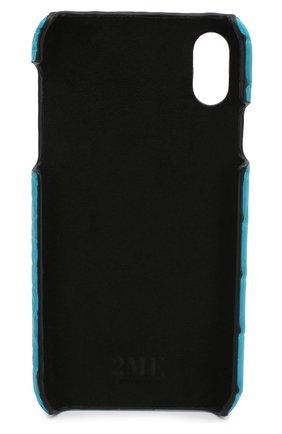 Мужской чехол для iphone xr 2MESTYLE голубого цвета, арт. DD014/CNIL | Фото 2