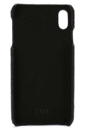 Мужской чехол для iphone xs max 2MESTYLE черного цвета, арт. DD053/CNIL | Фото 2