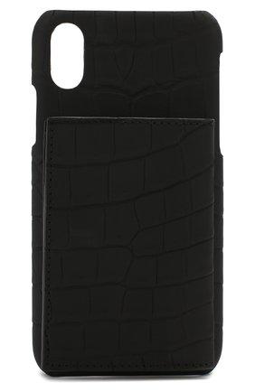 Мужской чехол для iphone x/xs 2MESTYLE черного цвета, арт. DD112/CSIA | Фото 1