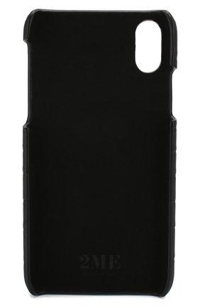 Мужской чехол для iphone x/xs 2MESTYLE черного цвета, арт. DD112/CSIA | Фото 2