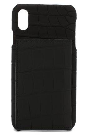 Мужской чехол для iphone xs max 2MESTYLE черного цвета, арт. DD128/CNIL | Фото 1