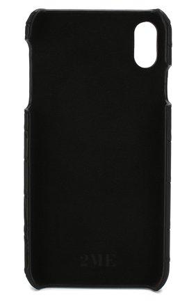 Мужской чехол для iphone xs max 2MESTYLE черного цвета, арт. DD128/CNIL | Фото 2