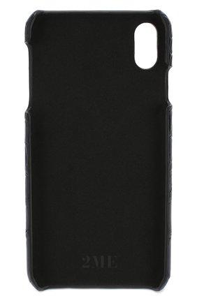 Мужской чехол для iphone xs max 2MESTYLE темно-синего цвета, арт. DD281/CNIL | Фото 2