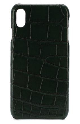 Мужской чехол для iphone xs max 2MESTYLE зеленого цвета, арт. DD993/CSIA | Фото 1