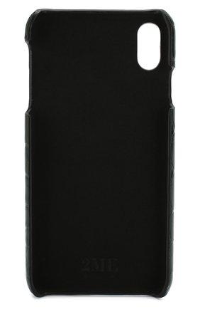 Мужской чехол для iphone xs max 2MESTYLE зеленого цвета, арт. DD993/CSIA | Фото 2