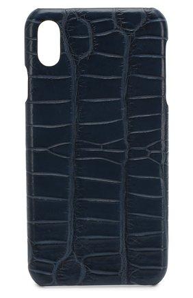 Мужской чехол для iphone xs max 2MESTYLE синего цвета, арт. DD997/CNIL | Фото 1