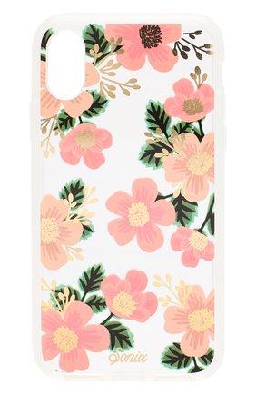 Мужской чехол для iphone x/xs SONIX розового цвета, арт. 278-0231-0111 | Фото 1