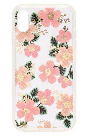 Мужской чехол для iphone xs max SONIX розового цвета, арт. 288-0231-0111 | Фото 1