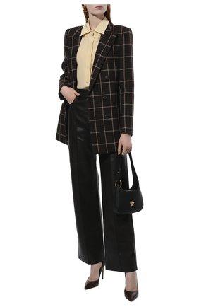 Женская кожаные туфли gianvito 105 GIANVITO ROSSI бордового цвета, арт. G28470.15RIC.NAPR0YA | Фото 2