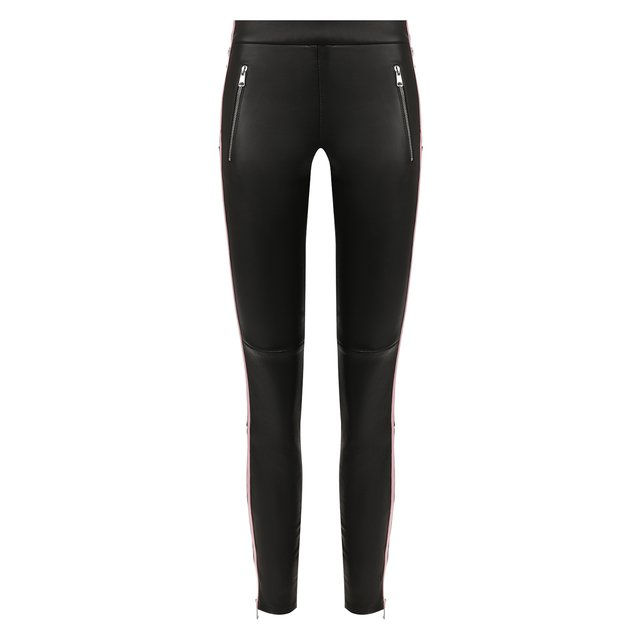 Кожаные брюки Alexander McQueen