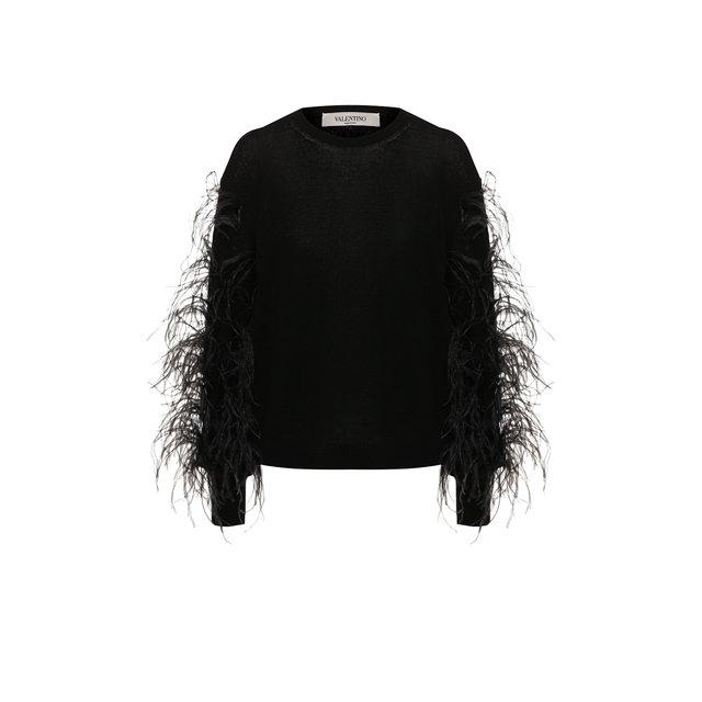Пуловер из смеси шерсти и кашемира Valentino