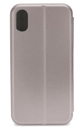 Мужской чехол для iphone x UBEAR серебряного цвета, арт. CS25SL01-I10 | Фото 2