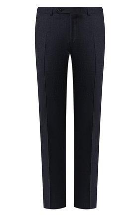 Мужской шерстяные брюки CANALI синего цвета, арт. 71019/AA02161 | Фото 1
