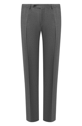 Мужские шерстяные брюки CANALI светло-серого цвета, арт. 71019/AA02161 | Фото 1