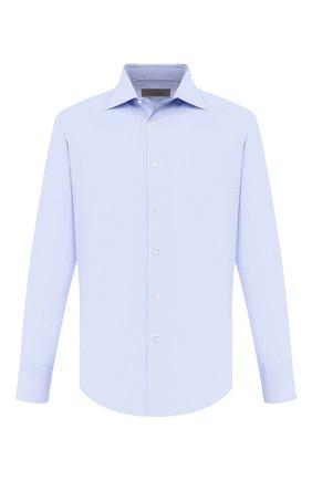Мужская хлопковая сорочка CANALI голубого цвета, арт. 705/GD00533/S | Фото 1
