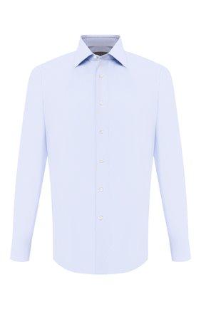 Мужская хлопковая сорочка CANALI голубого цвета, арт. 705/GA00098/S | Фото 1