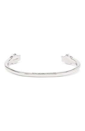 Мужской браслет ALEXANDER MCQUEEN серебряного цвета, арт. 554482/J160I | Фото 2