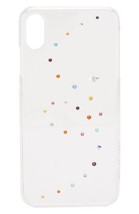 Мужской чехол для iphone xs max BLING MY THING прозрачного цвета, арт. IPXS-L-PP-CL-CCD | Фото 1