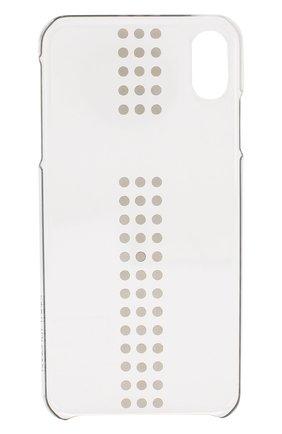 Мужской чехол для iphone xs max BLING MY THING прозрачного цвета, арт. IPXS-L-ST-CL-LRS | Фото 2
