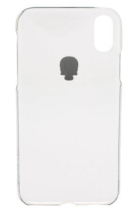 Мужской чехол для iphone xr BLING MY THING прозрачного цвета, арт. IPXR-TR-CL-SLV | Фото 2
