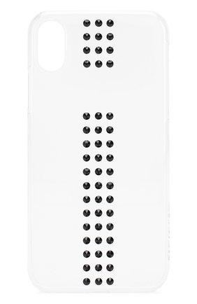 Мужской чехол для iphone xr BLING MY THING прозрачного цвета, арт. IPXR-ST-CL-JET | Фото 1
