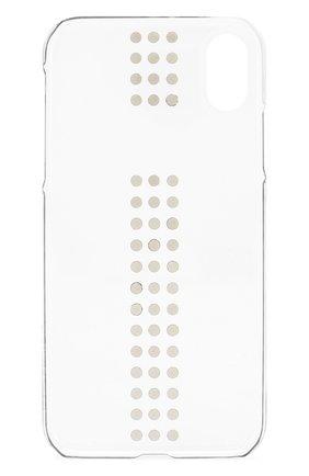 Мужской чехол для iphone xr BLING MY THING прозрачного цвета, арт. IPXR-ST-CL-JET | Фото 2