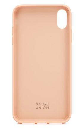 Мужской чехол для iphone xs max NATIVE UNION розового цвета, арт. CCARD-ROSE-NP18L | Фото 2