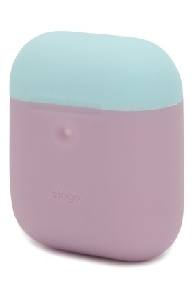 Чехол для airpods wireless  ELAGO фиолетового цвета, арт. EAP2DO-LV-PBLPK   Фото 2 (Статус проверки: Проверена категория)